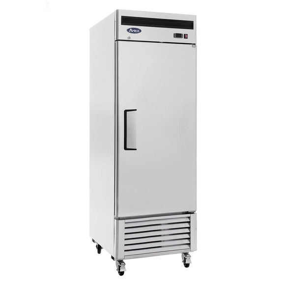 Atosa Bottom Mount One Section Solid Door Reach-In Refrigerator MBF8505-Refrigeration Units-Karat-Carry Out Supplies