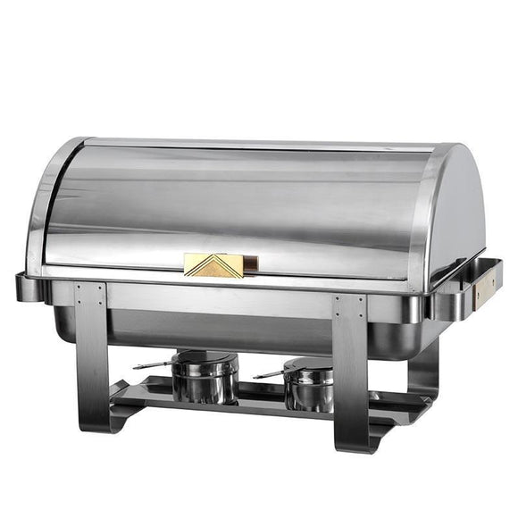 Atosa Full Size Gold Accent Roll Top Chafer AT721R61-Smallwares-Karat-Carry Out Supplies