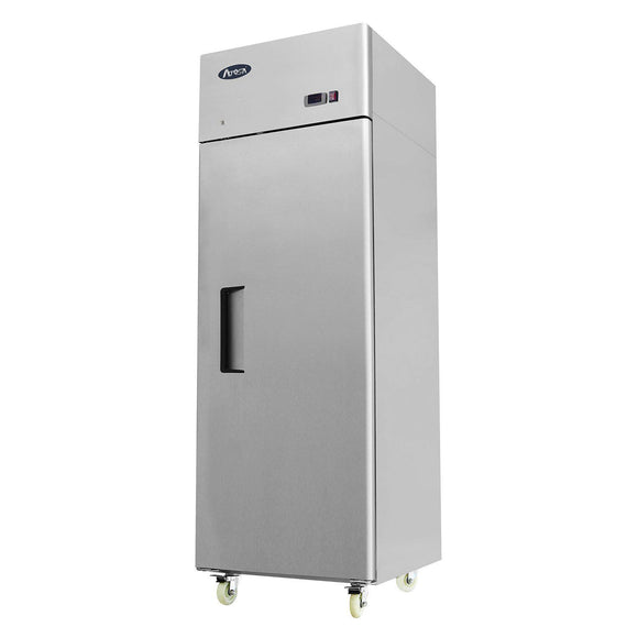 Atosa Top Mount One Section Solid Door Reach-In Refrigerator MBF8004-Refrigeration Units-Karat-Carry Out Supplies