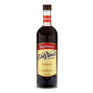 Blueberry DaVinci Syrup Bottle - 750mL-Syrups-DaVinci Gourmet-Carry Out Supplies