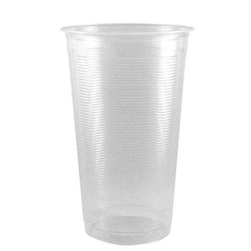 Bubble Tea Cups 24oz PP AO/Flat Rim Ribbed Cold Cups (95mm) - 1,000 count-Cups & Lids-Karat-Carry Out Supplies