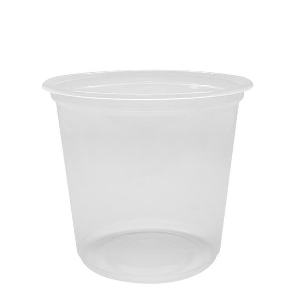 Bubble Tea Cups 25oz PP Flat Rim Extra Wide Cold Cups (120mm) - 500 count-Cups & Lids-Karat-Carry Out Supplies