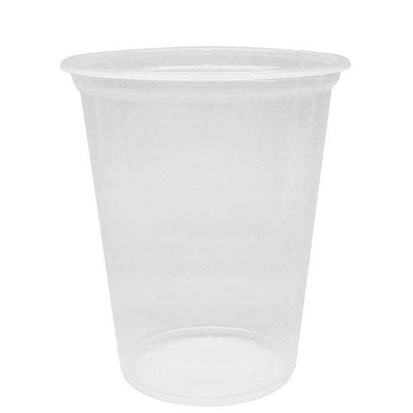 Bubble Tea Cups 30oz PP Flat Rim Extra Wide Cold Cups (120mm) - 500 count-Cups & Lids-Karat-Carry Out Supplies