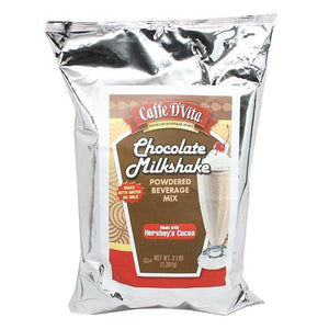 Caffe D'Vita Chocolate Milkshake (3 lbs)-Powdered Base-Caffe D'Vita-Carry Out Supplies