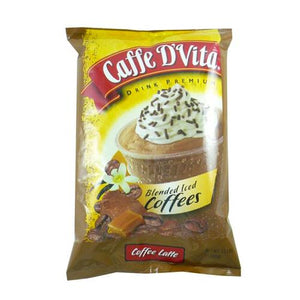 Caffe D'Vita Coffee Latte Blended Ice Coffee (3.5 lbs)-Powdered Base-Caffe D'Vita-Carry Out Supplies