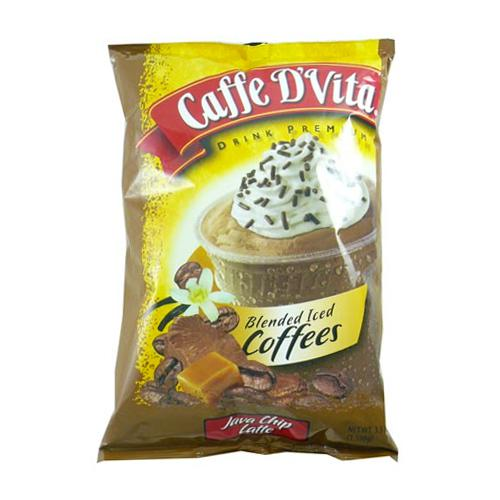 Caffe D'Vita Java Chip Latte Blended Ice Coffee (3.5 lbs)-Powdered Base-Caffe D'Vita-Carry Out Supplies