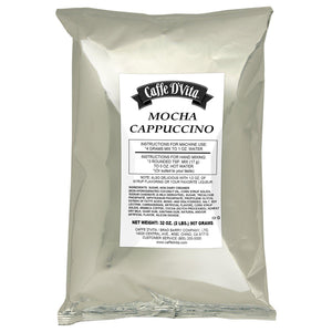 Caffe D'Vita Mocha Cappuccino (2 lbs)-Powdered Base-Caffe D'Vita-Carry Out Supplies