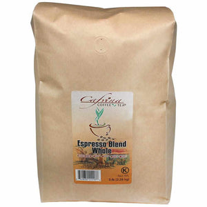 Cafvina Espresso Blend - Whole Bean (5 lbs)-Coffee Beans & Grounds-Cafvina-Carry Out Supplies