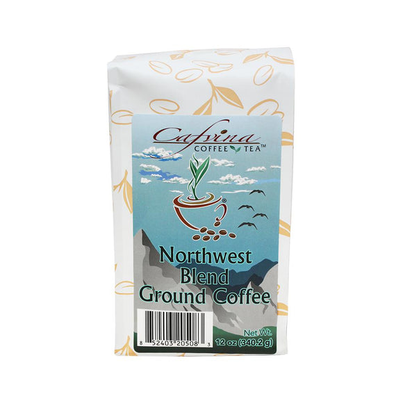 Cafvina Northwest Blend - Ground (12oz)-Coffee Beans & Grounds-Cafvina-Carry Out Supplies