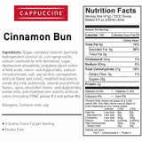 Cappuccine Cinnamon Bun Frappe Mix (3 lbs)-Powdered Base-Cappuccine-Carry Out Supplies
