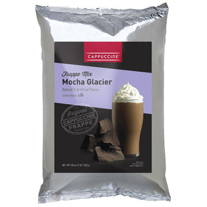 Cappuccine Mocha Glacier Frappe Mix (3 lbs)-Powdered Base-Cappuccine-Carry Out Supplies