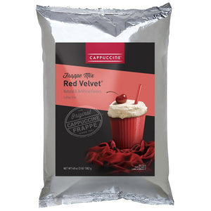Cappuccine Red Velvet Frappe Mix (3 lbs)-Powdered Base-Cappuccine-Carry Out Supplies