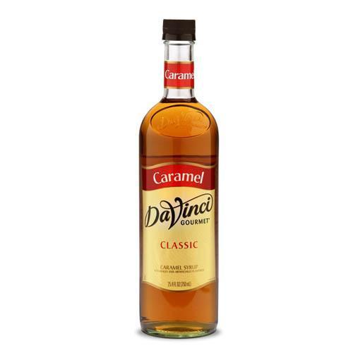 Caramel DaVinci Syrup Bottle - 750mL-Syrups-DaVinci Gourmet-Carry Out Supplies