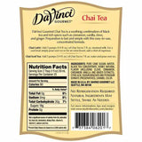 Chai Tea Concentrate Davinci Gourmet Bottle - 750mL-Syrups-DaVinci Gourmet-Carry Out Supplies