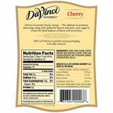 Cherry DaVinci Gourmet Syrup Bottle - 750mL-Syrups-DaVinci Gourmet-Carry Out Supplies