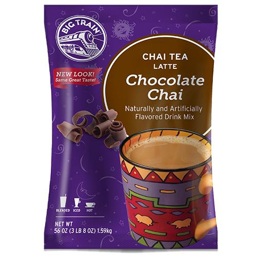 Chocolate Chai Tea Latte - Big Train Mix - Bag 3.5 pounds-Powdered Base-Big Train-Carry Out Supplies