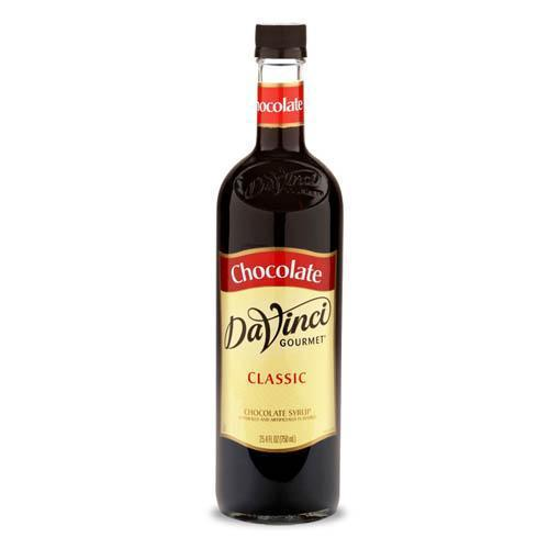 Chocolate DaVinci Gourmet Syrup Bottle - 750mL-Syrups-DaVinci Gourmet-Carry Out Supplies