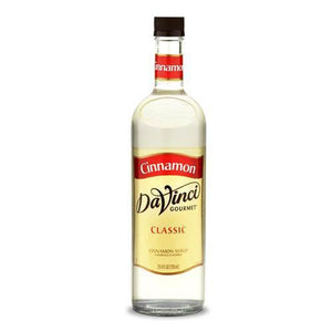 Cinnamon DaVinci Syrup Bottle - 750mL-Syrups-DaVinci Gourmet-Carry Out Supplies