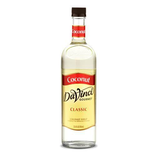 Coconut DaVinci Syrup Bottle - 750mL-Syrups-DaVinci Gourmet-Carry Out Supplies
