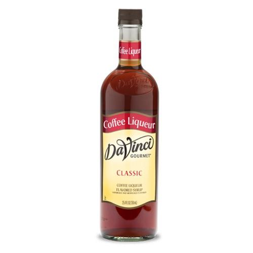 Coffee Liqueur DaVinci Gourmet Syrup Bottle - 750mL-Syrups-DaVinci Gourmet-Carry Out Supplies