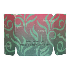 Coffee Sleeves - Tulip Cup Jackets - Aroma II - 1,000 ct-Cup Accessories-Karat-Carry Out Supplies