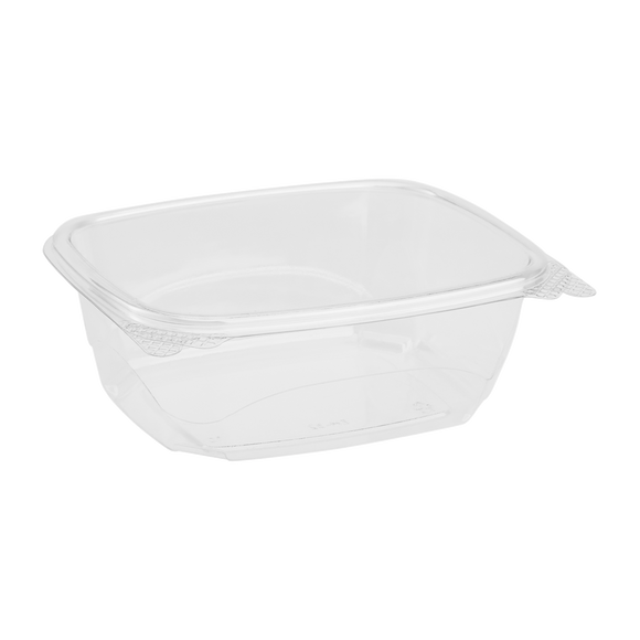 Compostable 32 oz Hinged Deli Containers - Eco-Friendly Oversized Hinged Deli Boxes - 200 count-Restaurant Supply Drop