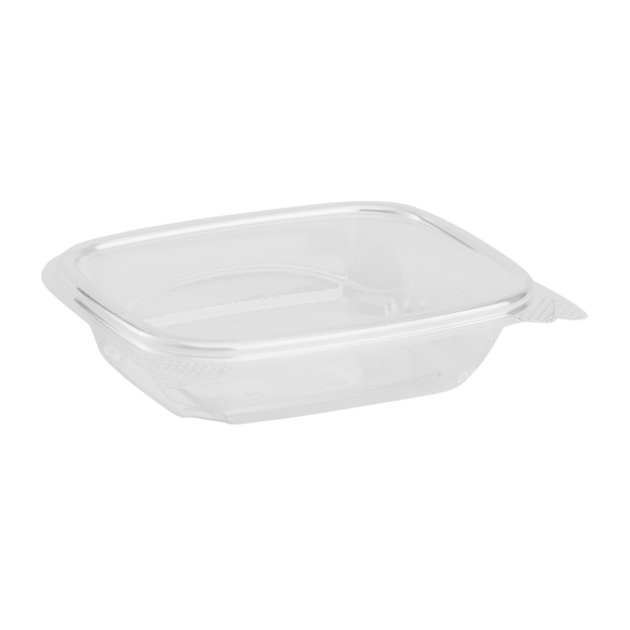 Compostable 8oz Hinged Deli Containers - PLA Small Hinged Deli Box - 200 count-Restaurant Supply Drop