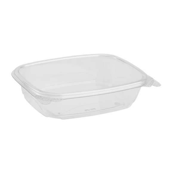 Compostable 24oz Hinged Deli Containers - Eco-Friendly Large Hinged Deli Boxes - 200 count-Restaurant Supply Drop