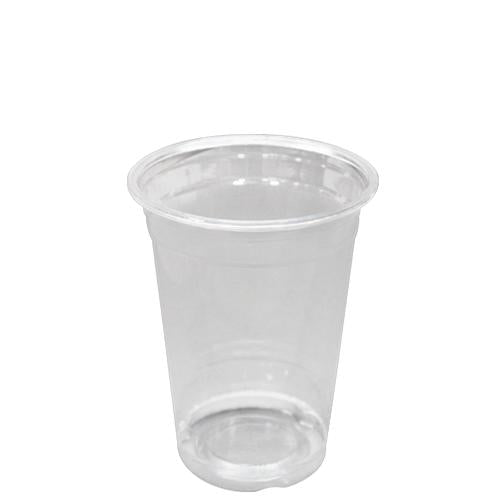 Custom Printed Plastic Cups - 10oz PET Cold Cups (78mm) - 50,000 ct-Custom-Karat-1 Color-No Lids-Carry Out Supplies