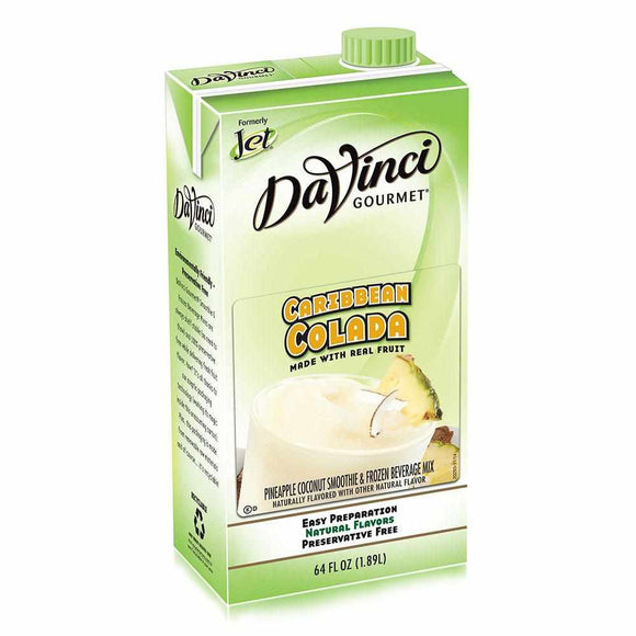 DaVinci Caribbean Colada Smoothie Mix (64oz)-Liquid Base & Purees-DaVinci Gourmet-Carry Out Supplies
