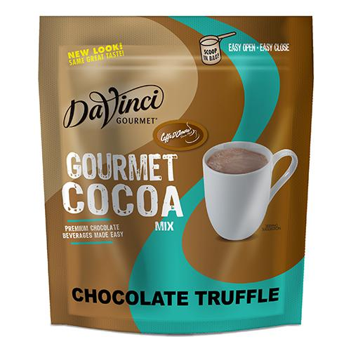 DaVinci Chocolate Truffle Gourmet Cocoa Mix (2 lbs) - Formerly Caffe D'Amore-Powdered Base-DaVinci Gourmet-Carry Out Supplies