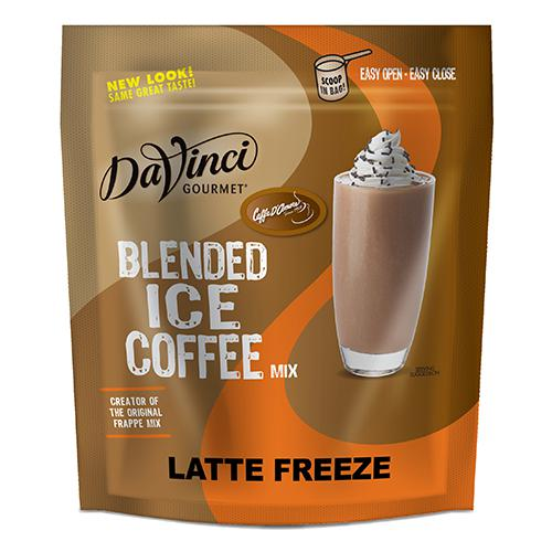 DaVinci Latte Freeze Blended Ice Coffee Mix (3 lbs) - Formerly Caffe D'Amore-Powdered Base-DaVinci Gourmet-Carry Out Supplies