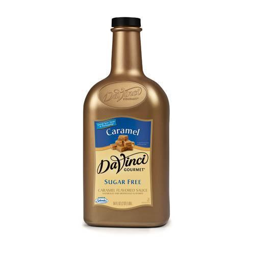 DaVinci Sugar Free Caramel Sauce (64oz)-Sauces-DaVinci Gourmet-Carry Out Supplies