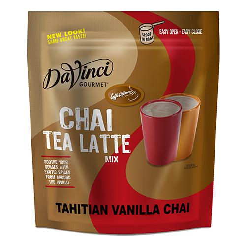 DaVinci Tahitian Vanilla Chai Latte Mix (3 lbs) - Formerly Caffe D'Amore-Powdered Base-DaVinci Gourmet-Carry Out Supplies