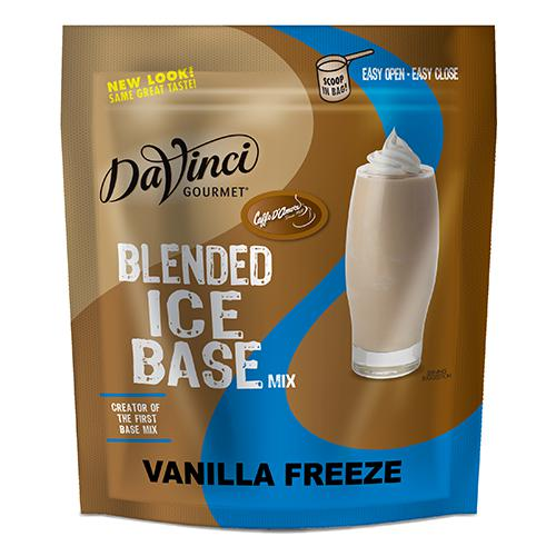DaVinci Vanilla Freeze Frappe Base Mix (3 lbs) - Formerly Caffe D'Amore-Powdered Base-DaVinci Gourmet-Carry Out Supplies
