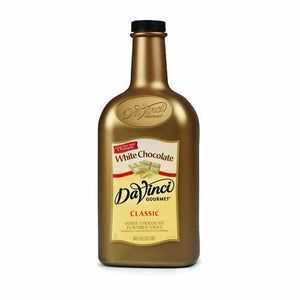 DaVinci White Chocolate Sauce (64oz)-Sauces-DaVinci Gourmet-Carry Out Supplies