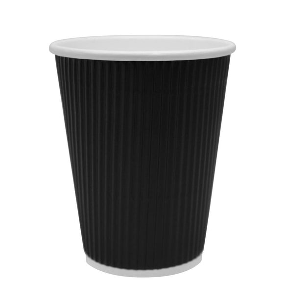 0cf7737ccbb Disposable Coffee Cups - 24oz Paper Hot Cups - White (90mm) - 500 ct ...