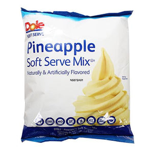 Dole Soft Serve Mix - Pineapple (4.4 lbs)-Dessert Mixes-Dole-Carry Out Supplies