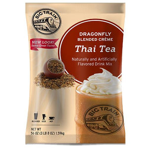 Dragonfly Thai Tea Blended Creme Frappe - Big Train Mix - Bag 3.5 pounds-Powdered Base-Big Train-Carry Out Supplies