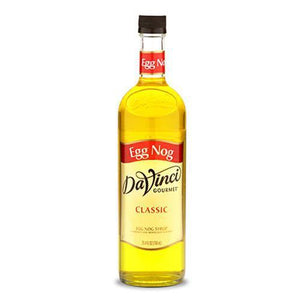 Egg Nog DaVinci Syrup Bottle - 750mL-Syrups-DaVinci Gourmet-Carry Out Supplies