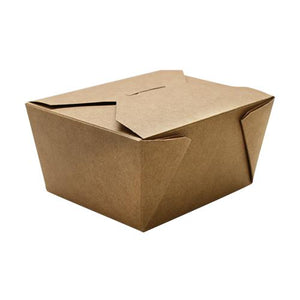 Fold-To-Go Box 30oz Carry Out Container #1 - Kraft - 450 count-To-Go Packaging-Karat-Carry Out Supplies