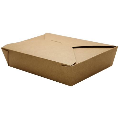 Fold-To-Go Box 54oz Carry Out Container #2 - Kraft - 200 count-To-Go Packaging-Karat-Carry Out Supplies