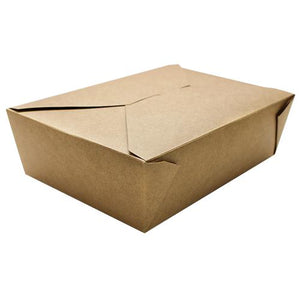 Fold-To-Go Box 76oz Carry Out Container #3 - Kraft - 200 count-To-Go Packaging-Karat-Carry Out Supplies