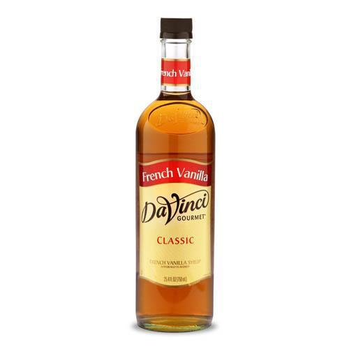 French Vanilla DaVinci Gourmet Syrup Bottle - 750mL-Syrups-DaVinci Gourmet-Carry Out Supplies