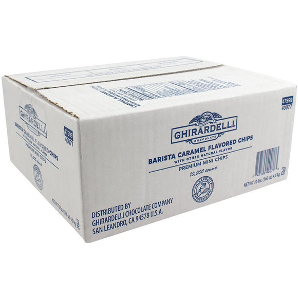 Ghirardelli Barista Caramel Flavored Mini Chips (10lbs)-Chips & Chunks-Ghirardelli-Carry Out Supplies