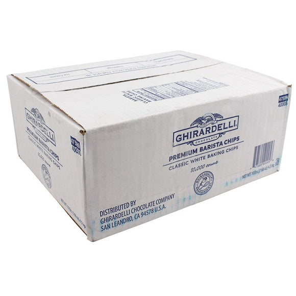 Ghirardelli Barista Classic White Chips (10lbs)-Chips & Chunks-Ghirardelli-Carry Out Supplies
