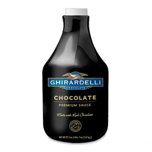 Ghirardelli Black Label Chocolate Sauce (64 fl oz)-Sauces-Ghirardelli-Carry Out Supplies