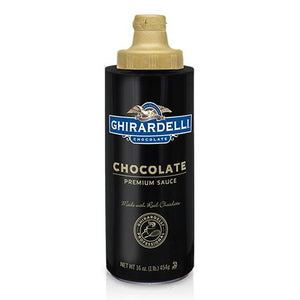 Ghirardelli Chocolate Flavored Sauce Squeeze Bottle (16oz)-Sauces-Ghirardelli-Carry Out Supplies