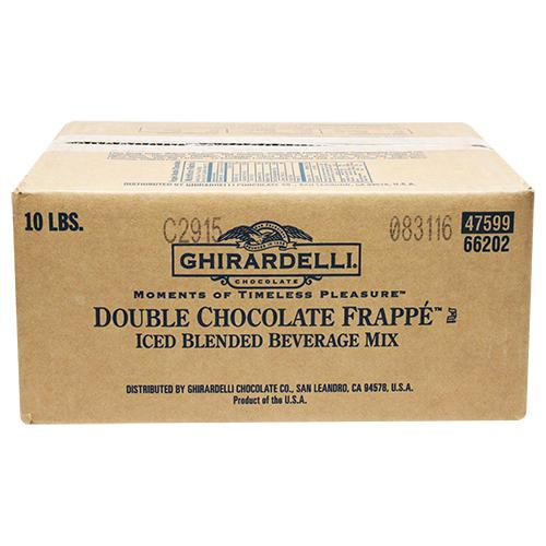 Ghirardelli Chocolate Frappe (10 lbs)-Powdered Base-Ghirardelli-Carry Out Supplies