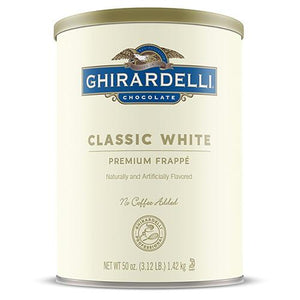 Ghirardelli Classic White Frappe (3.12 lbs)-Powdered Base-Ghirardelli-Carry Out Supplies